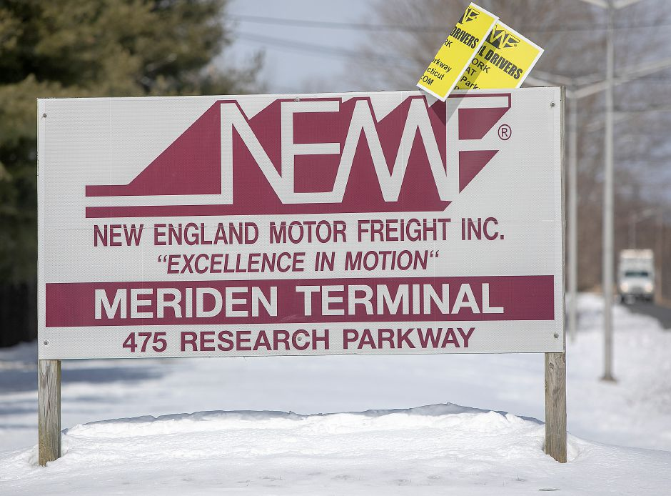New England Motor Freight Inc., at 475 Research Parkway in Meriden, has closed
