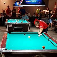 Cameron Johnson, 18, finished fifth overall in the American Poolplayers Association's Junior Championship at the Renaissance Hotel in St. Louis earlier this summer. Johnson, who is autistic, has found his niche in the game. | Photo courtesy of Sal Conti
