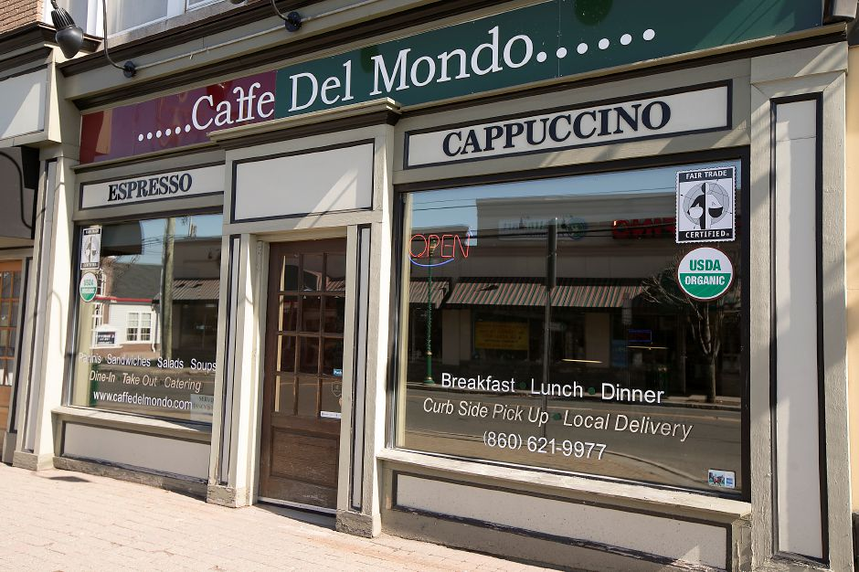Caffe Del Mondo at 51 N. Main St. in Southington, Wednesday, February 28, 2018. Dave Zajac, Record-Journal