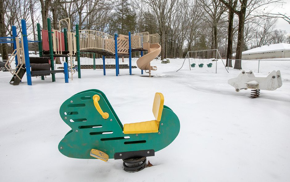 The playground at Veterans Memorial Park on Woodruff Street in Southington, Wed. Feb. 13, 2019. Dave Zajac, Record-Journal