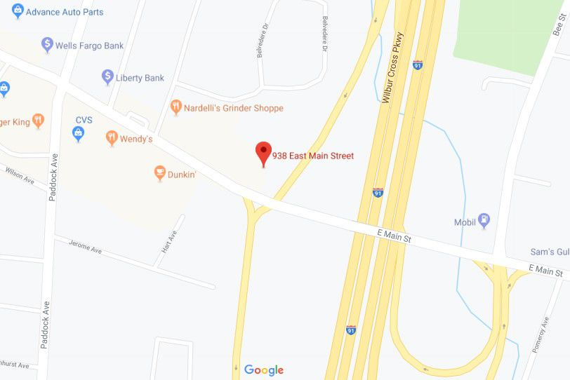 A new gas station is planned at 938 E. Main St. in Meriden, next to Comfort Inn & Suites hotel and across the street from Wendy's and CVS Pharmacy.