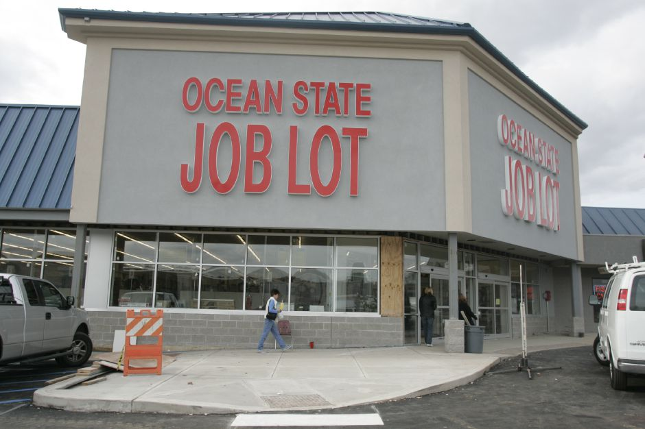 Ocean State Job Lot is among businesses that have stayed in the plaza. File photo, Record-Journal