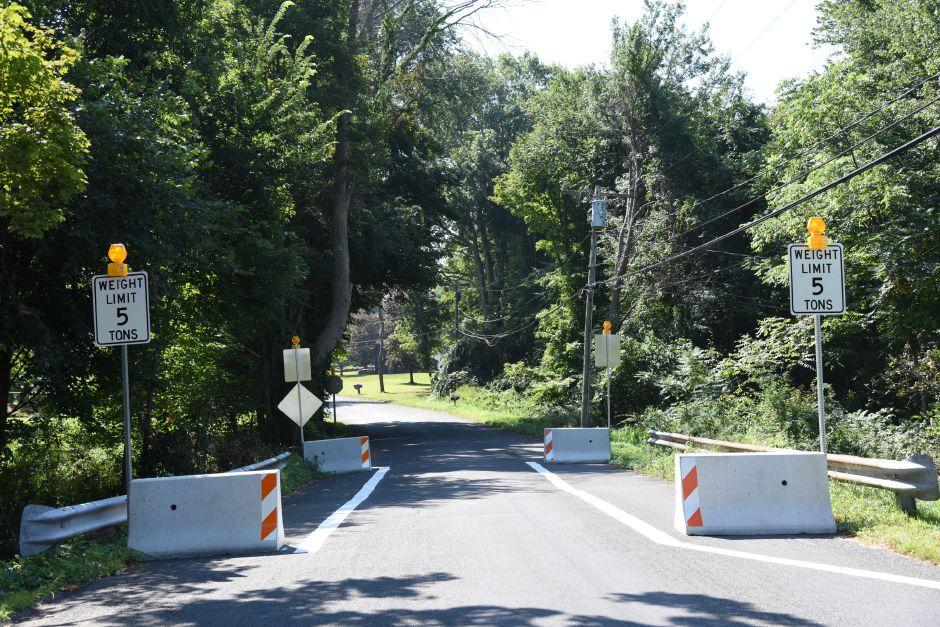 Culverts on Indian Lane over Parmalee Brook seen on Tuesday, Aug. 29. | Bailey Wright, Town Times