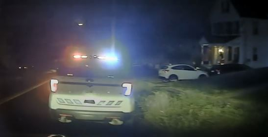 The video where Wallingford Officer Joseph Smith knocked out a handcuffed man with a punch.