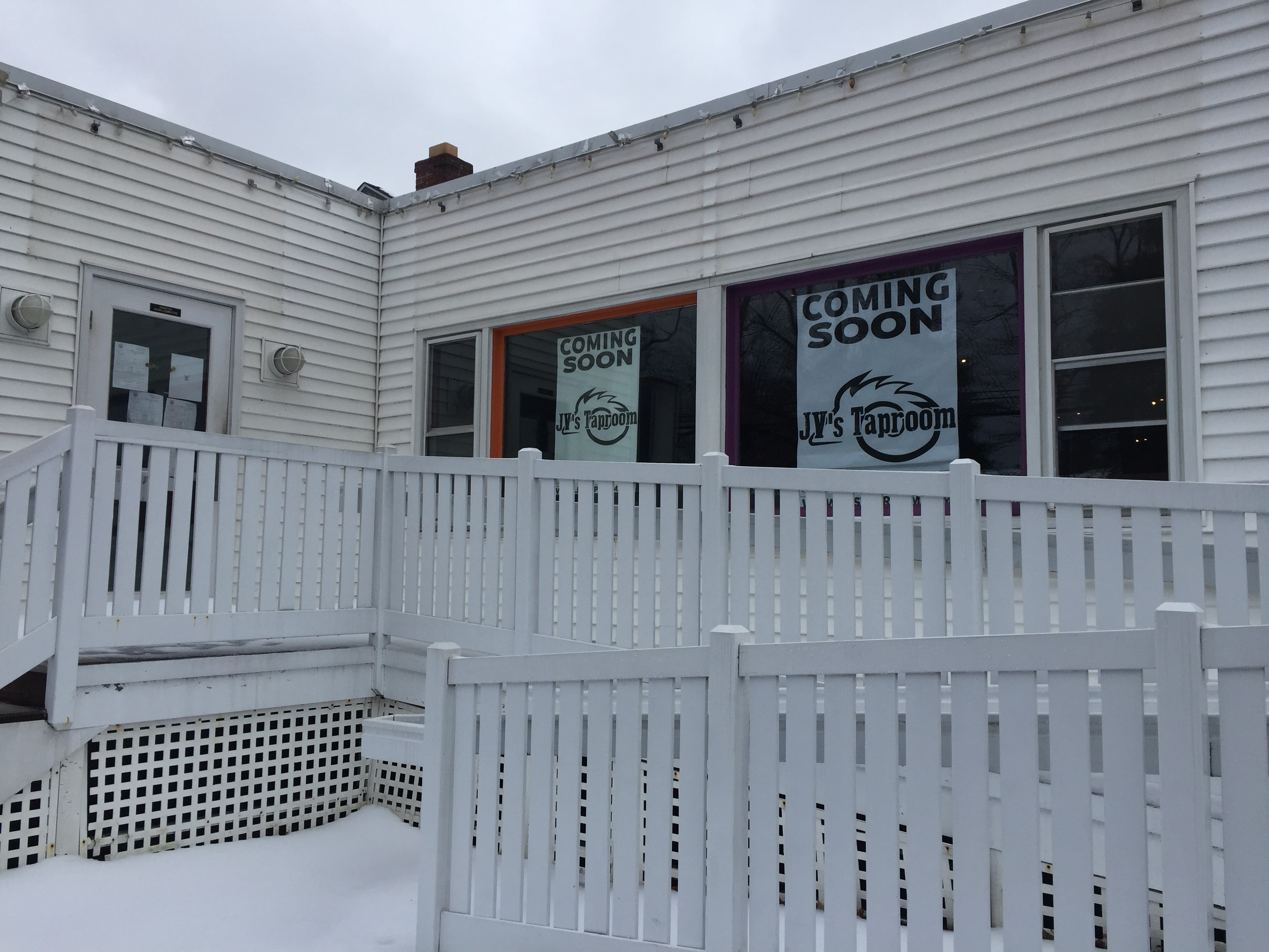 Rebel Dog Coffee Co., where Confetti restaurant used to be, in Plainville along with JV
