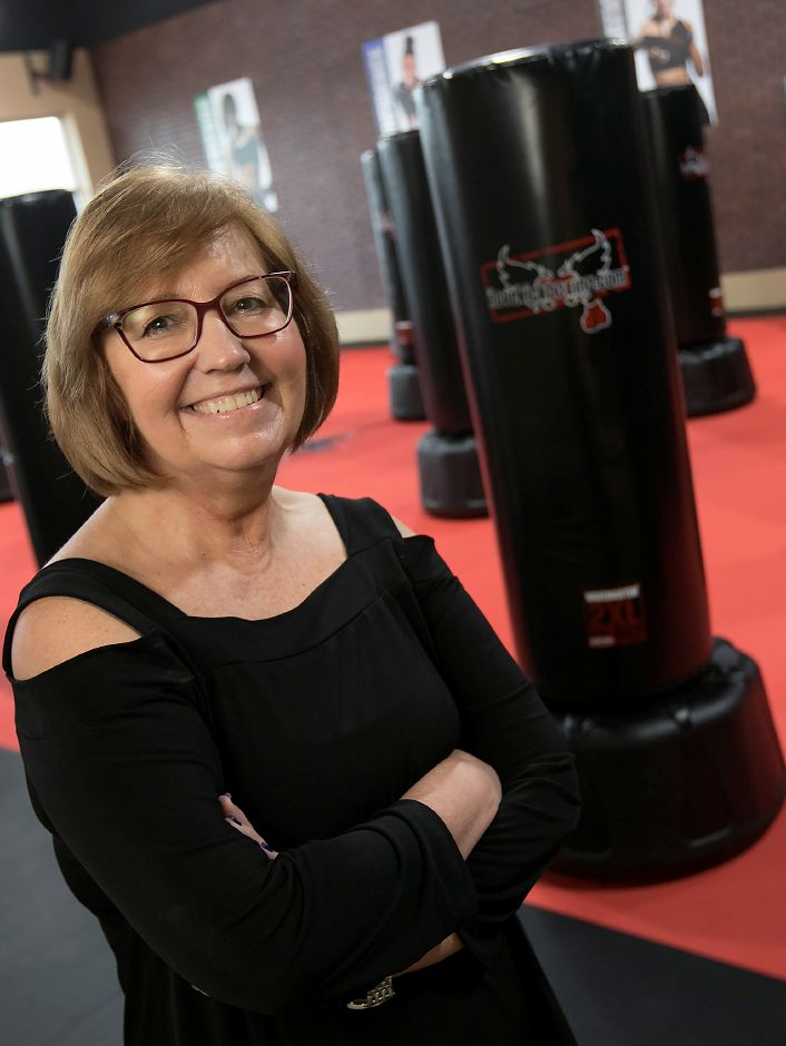 Margaret Lewis, owner of iLoveKickboxing, a new business at 99 Executive Boulevard in Southington, Thursday, Feb. 15, 2018. Dave Zajac, Record-Journal