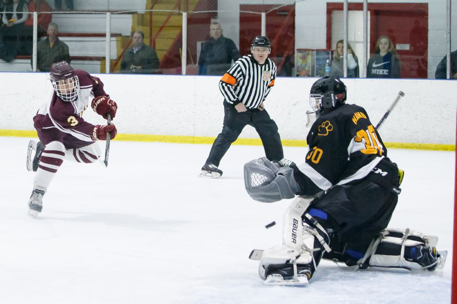 Joe Romano had one of the goals in Sheehan's 4-3 win Saturday over North Haven at Choate. | Justin Weekes, Special to the Record-Journal