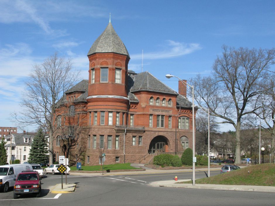 Meriden Board of Education building