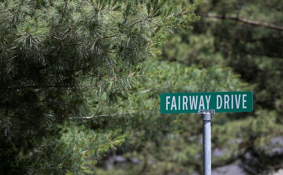 Fairway Drive in Cheshire, Monday, June 25, 2018. Dave Zajac, Record-Journal