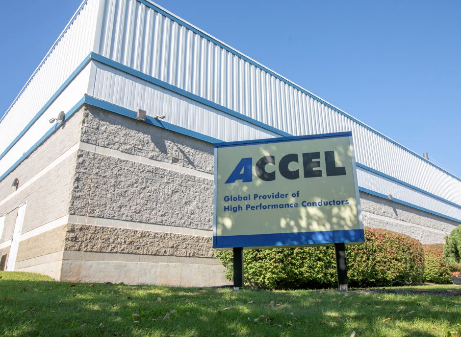 Accel International Holdings at 508 Colony St. in Meriden, Wednesday, Oct. 17, 2018. Dave Zajac, Record-Journal