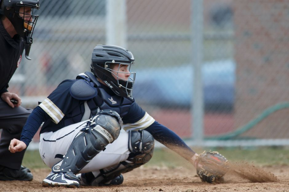 Catcher Jack Clancy had two hits and three RBI in Platt's 10-7 win Tuesday in Durham over Coginchaug. | Justin Weekes / Special to the Record-Journal
