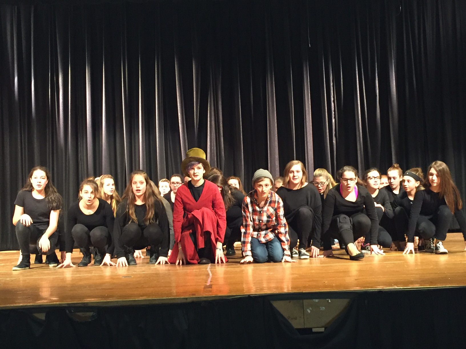 "McGee Middle School to perform ""James and the Giant Peach Jr."" 