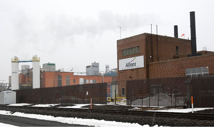 Allnex on South Cherry Street in Wallingford. | Dave Zajac / Record-Journal
