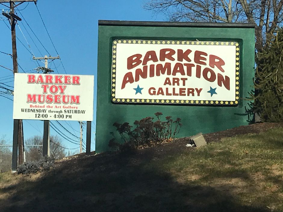 Barker Character, Comic and Cartoon Museum and Barker Animation Art Gallery, 1188 Highland Avenue, Cheshire. |Ashley Kus, Record-Journal