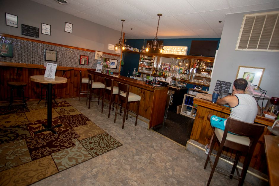 The bar area at the Square Foot Lounge in Wallingford Aug. 7, 2019. | Richie Rathsack, Record-Journal