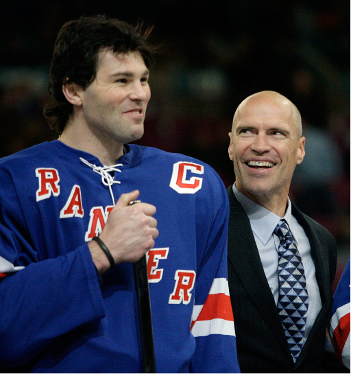 FILE - In this Dec. 19, 2006, file photo, former New York Rangers