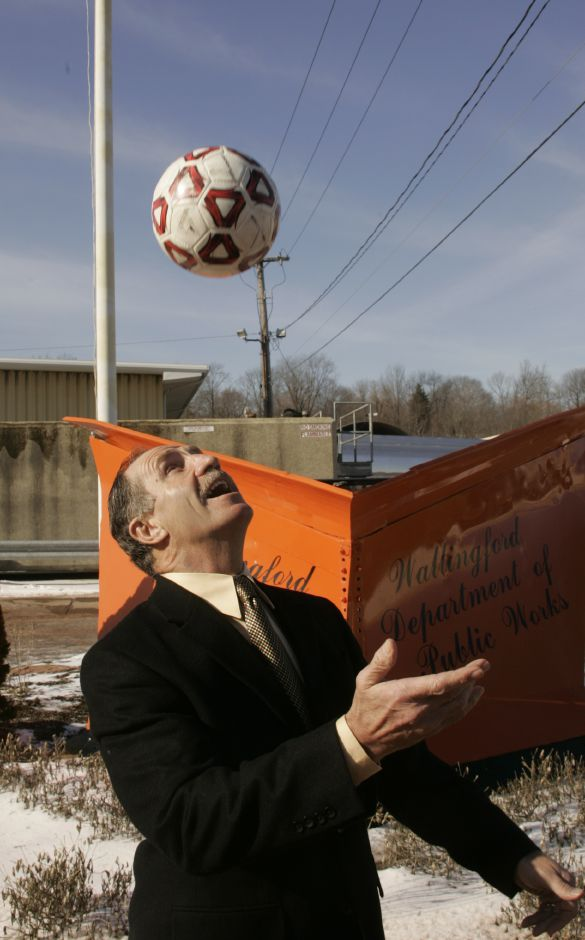 Henry McCully, the director of Wallingford Public Works, will soon be inducted into the Connecticut Soccer Hall of Fame, Tues., Jan. 17, 2006.
