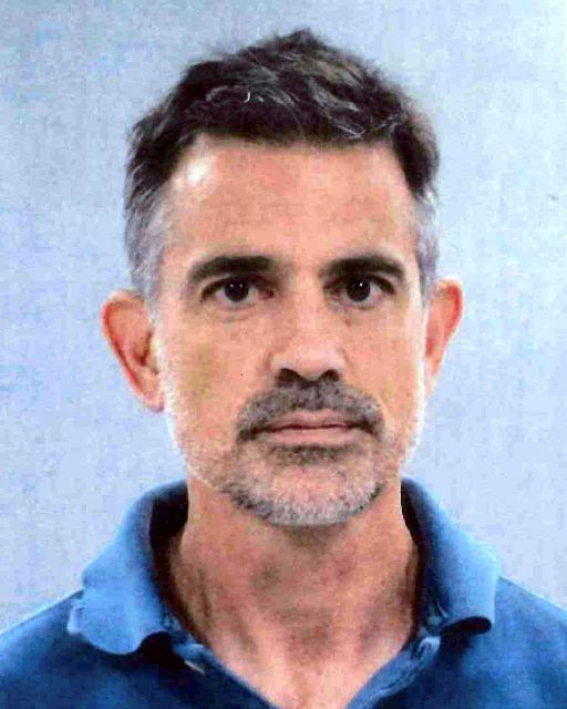 This photo provided by the Connecticut State Police shows Fotis Dulos. State police say Fotis Dulos, the estranged husband of a missing Connecticut mother of five has been arrested again in connection with her disappearance, Wednesday, Sept. 4, 2019. (Connecticut State Police via AP)