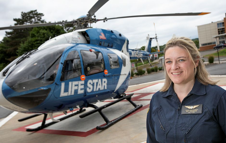 Tricia Margarido, a respiratory therapist with Life Star, has taken on more leadership responsibilities over the years, now serving as a medical crew manager. Dave Zajac, Record-Journal