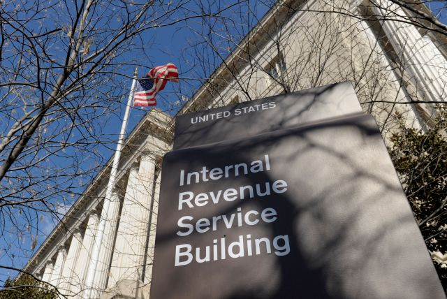 FILE - March 22, 2013 file photo of the exterior of the Internal Revenue Service building in Washington. (AP Photo/Susan Walsh, File)