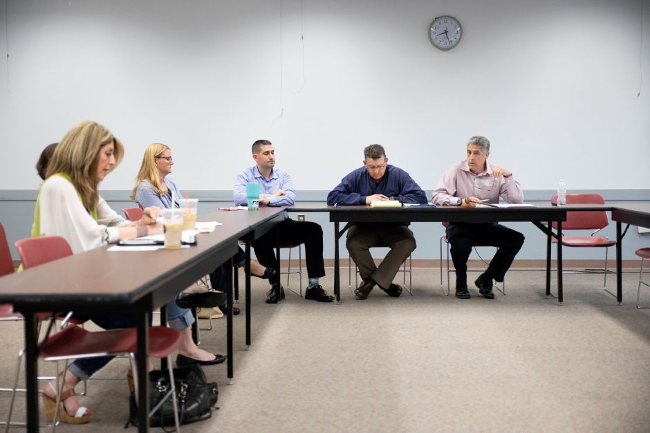 The Berlin Town Council approved a final budget for the 2019 fiscal year after voting Republicans opted to make almost $500,000 in cuts to school and municipal funding. | Devin Leith-Yessian/Berlin Citizen