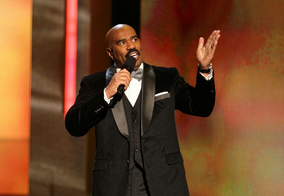 Where is the steve harvey show taped