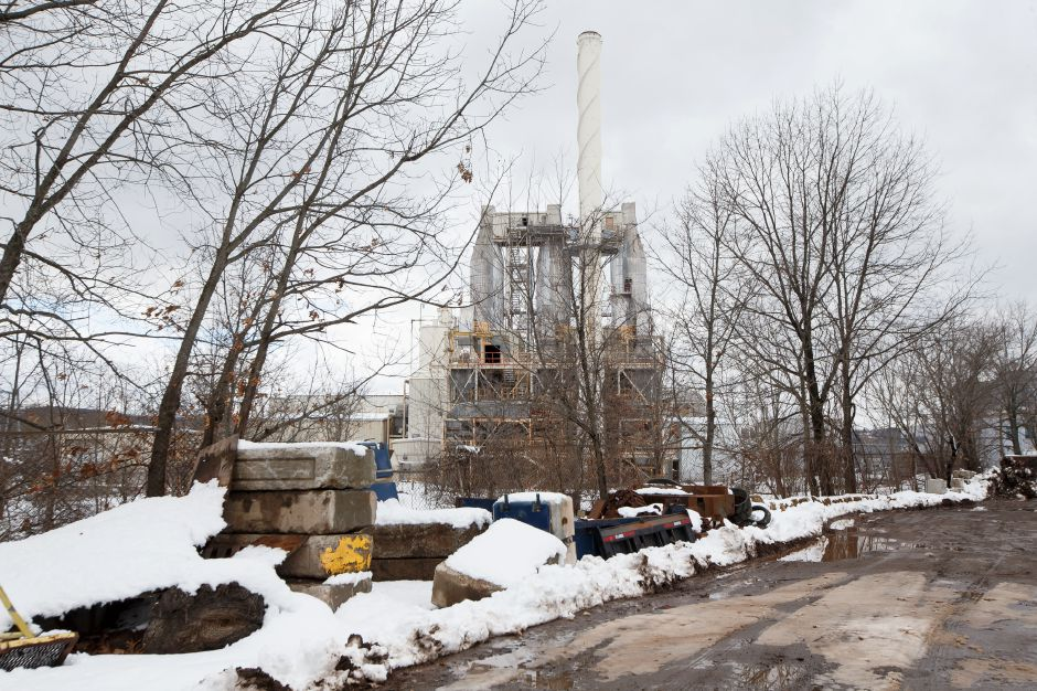 The Covanta Transfer Station on South Cherry Street in Wallingford Thursday March 8, 2018 | Justin Weekes / Special to the Record-Journal