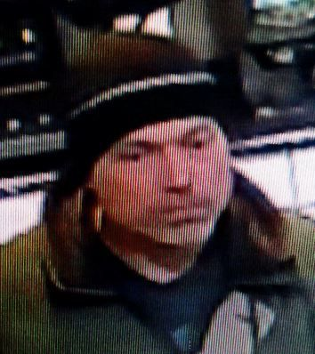 State police are searching for a man suspected of robberies at convenience stores in Durham and Killingworth on Wednesday. The man is described as white, early 40s, driving a silver sedan. | Contributed by Connecticut State Police