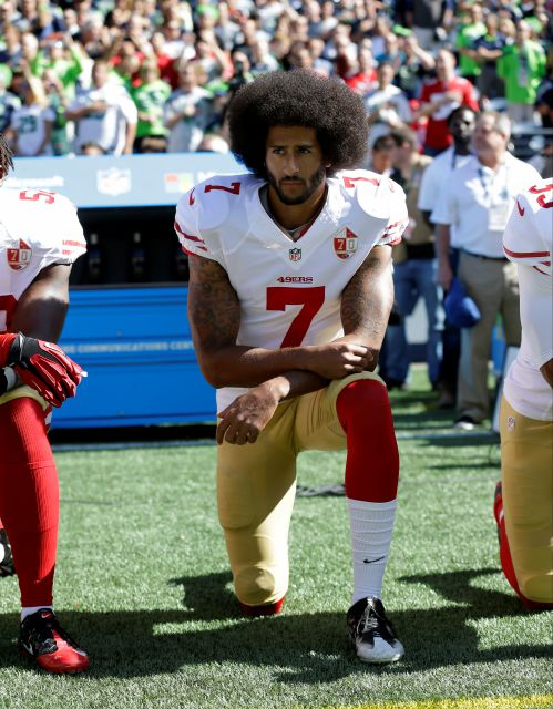 FILE - In this Sept. 25, 2016, file photo, San Francisco 49ers