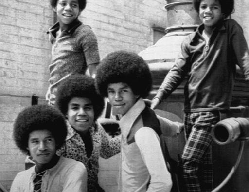 American music group The Jackson 5 return to school after their summer vacation; during which they played concerts in 40 cities. Top left is Marlon, top right is Michael. Below, from left to right, are Jackie, Tito and Jermaine. Aug. 31, 1971. (AP Photo)