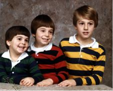 Left to right: John , Mark and Brian Benigni circa 1977 ( Mark was 5 years old). Courtesy of the Benigni family.