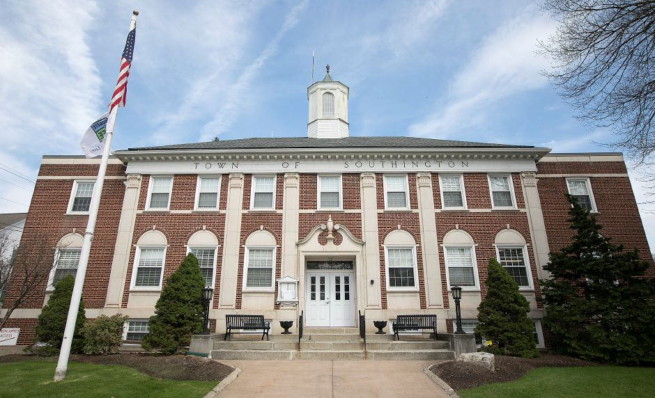 Southington Town Hall, Friday, May 4, 2018. Dave Zajac, Record-Journal
