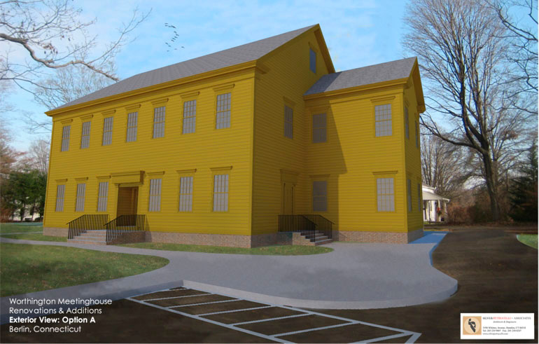 Plans are in the works for the Worthington Meeting House. | Berlin Historical Society, contributed