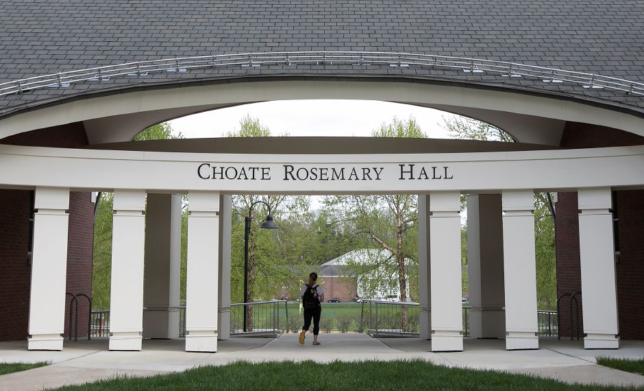 Choate Rosemary Hall in Wallingford, Tuesday, May 2, 2017. | Dave Zajac, Record-Journal
