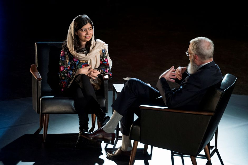 Original Series: My Next Guest Needs No Introduction with David Letterman: Malala Yousafzai, March 9