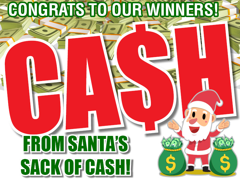 Enter to win your share of the Ca$h!