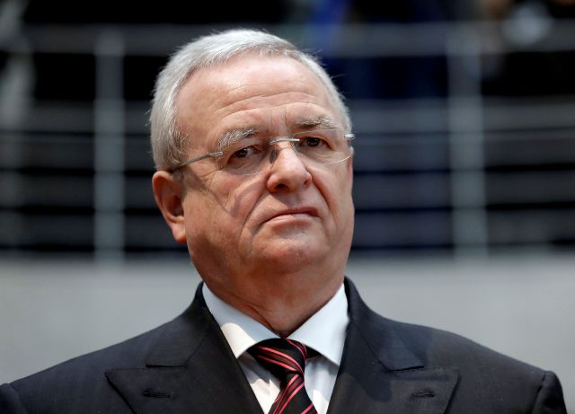 FILE - In this Jan. 19, 2017 file photo Martin Winterkorn, former CEO of the German car manufacturer