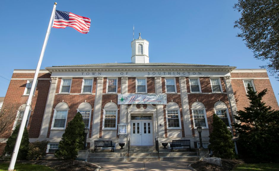 Southington Town Hall, Friday, Nov. 17, 2017. | Dave Zajac, Record-Journal