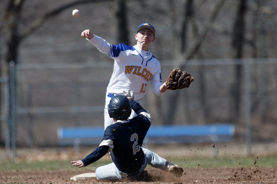 James Theriault went 3-for-4 on Wednesday as Wilcox Tech whipped Whitney Tech 11-1 in Meriden. | Justin Weekes / Special to the Record-Journal