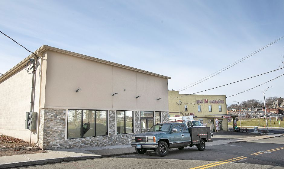 The new Mr. Taco restaurant under construction at 69 Miller St. in Meriden, Mon., Jan. 7, 2019. Dave Zajac, Record-Journal