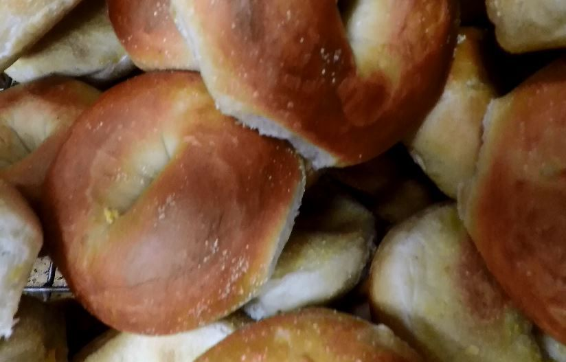 Plain bagels are popular at Fancy Bagels, 405 Queen St., Southington. |Ashley Kus, Record-Journal