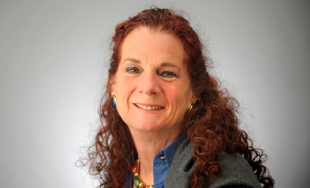 This undated photo shows Wendi Winters, reporter for the Capital Gazette. Winters was one of the victims when an active shooter targeted the newsroom, Thursday, June 28, 2018 in Annapolis, Md.  (The Baltimore Sun via AP)