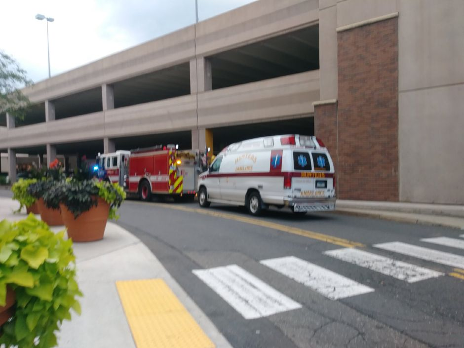 "Police have responded to what they say is an ""active scene"" at the Westfield Meriden mall. 