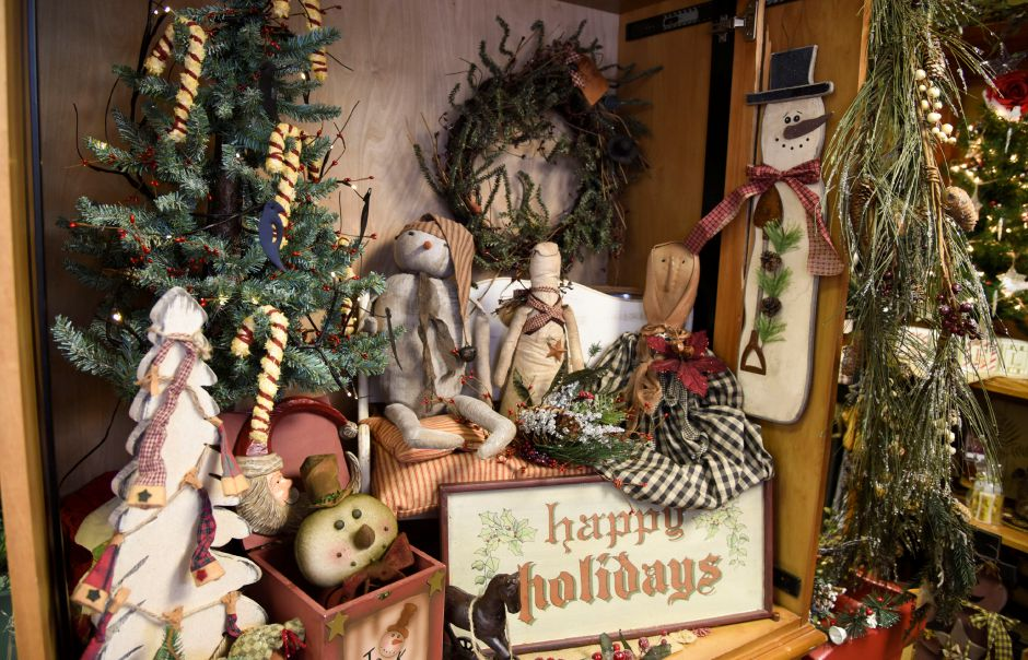 Vintage from the Heart set up for the holiday season on Nov. 1 in Southington. | Bailey Wright, Record-Journal