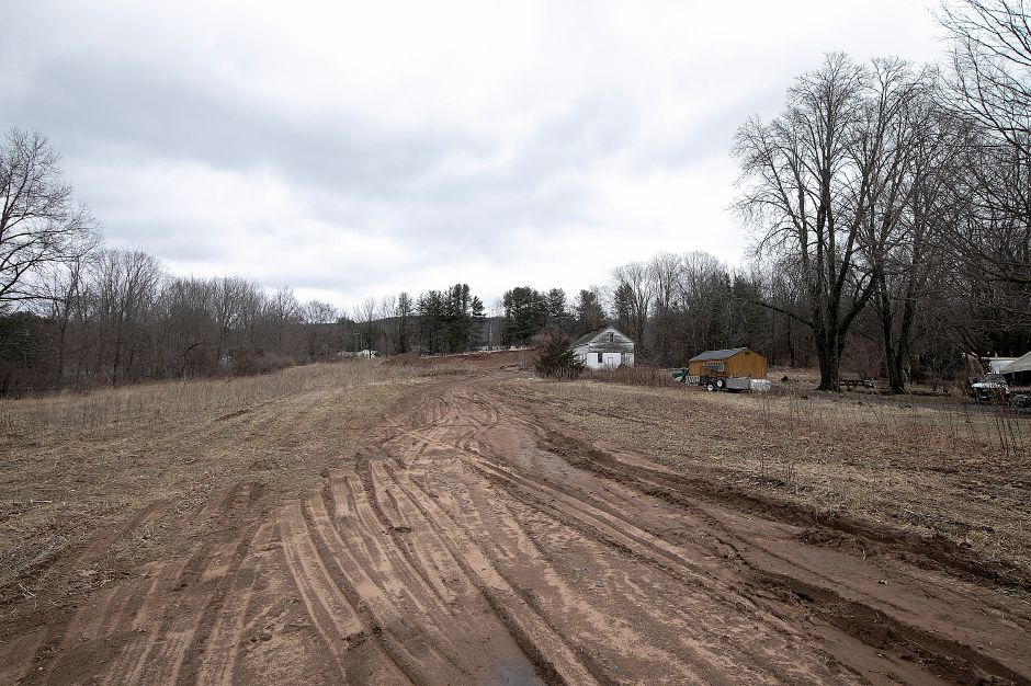 Site of a planned subdivision next to the former Curtiss farm on South End Road in Southington, Fri., Mar. 22, 2019. Dave Zajac, Record-Journal
