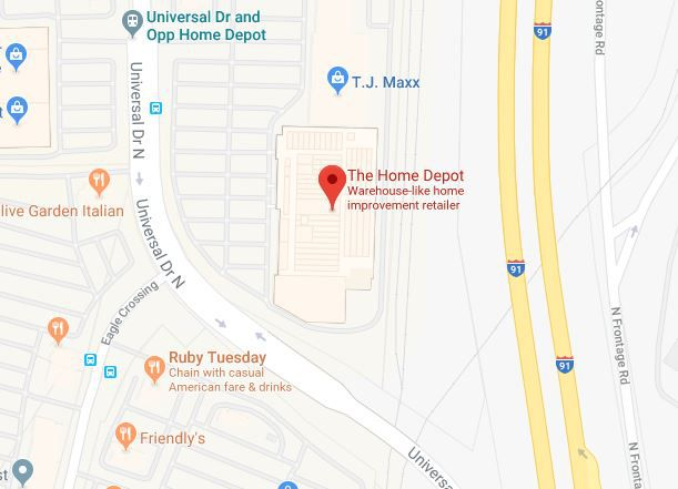 UPDATE: Suspicious package at North Haven Home Depot not a threat