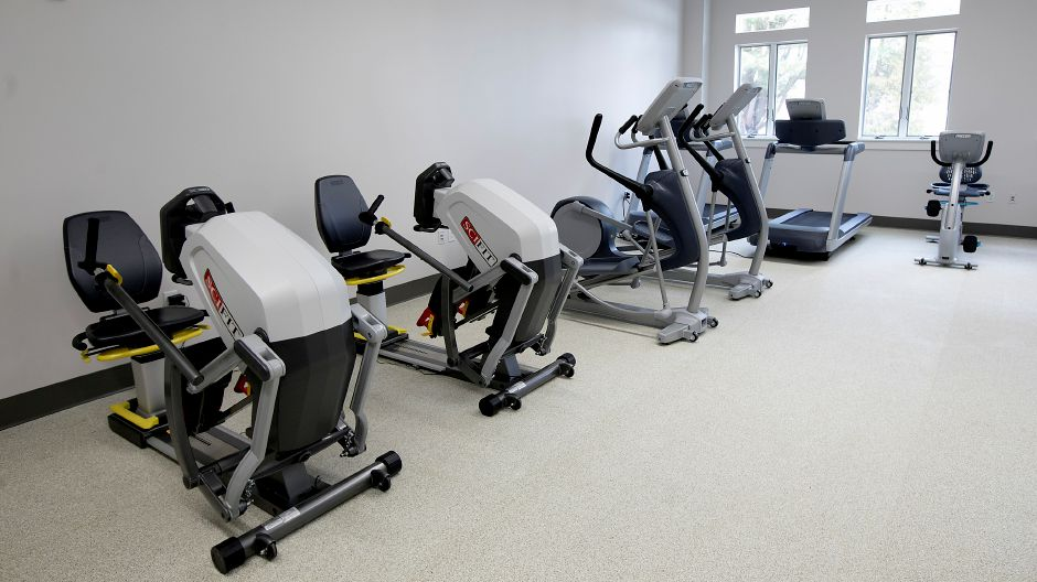 Partial view of the cardio room in the new Calendar House in Southington Wednesday, February 21, 2018. Dave Zajac, Record-Journal