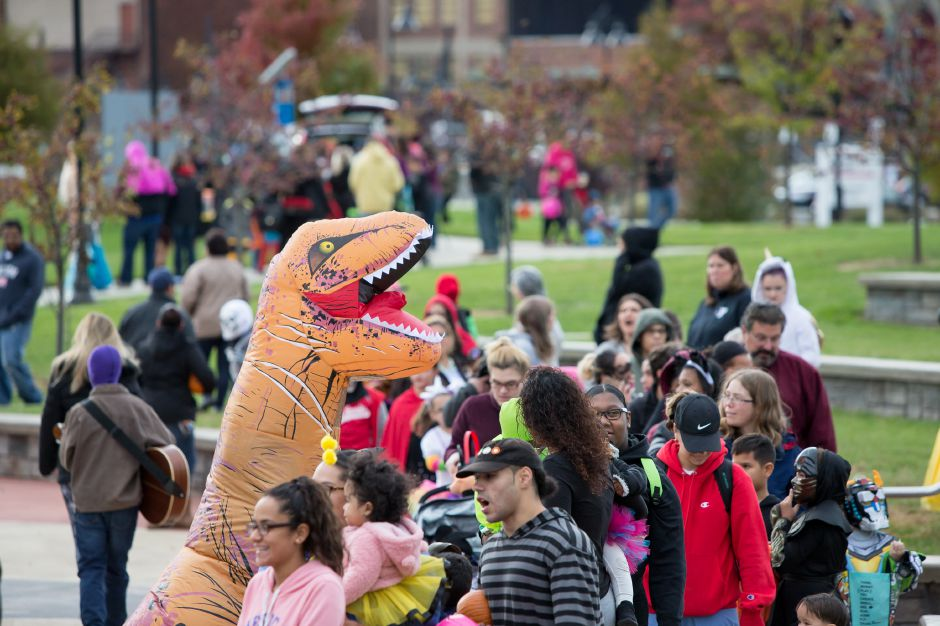 Sunday during Trunk or Treat on the Meriden Green in Meriden October 28, 2018 | Justin Weekes / Special to the Record-Journal