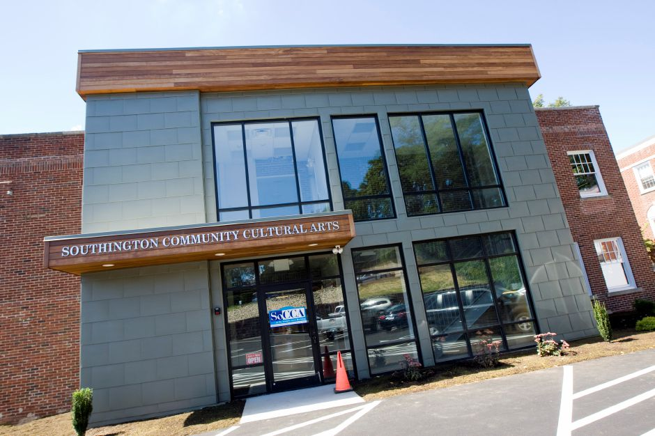 The new Southington Community Cultural Arts center in Southington, Tuesday, September 13, 2016. | Dave Zajac, Record-Journal