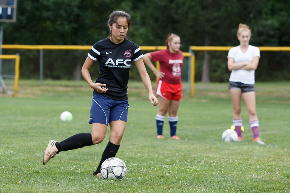 Junior Anani Gutierrez will help anchor the back line for the Platt Panthers. | Justin Weekes / Special to the Record-Journal